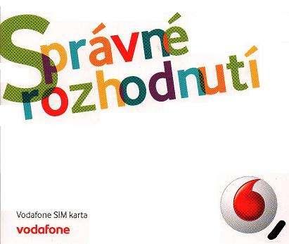 3 měsíce (6 měsíců) předplacený Mobilní internet Na chatu od Vodafone s 40% slevou 299 Kč měsíčně